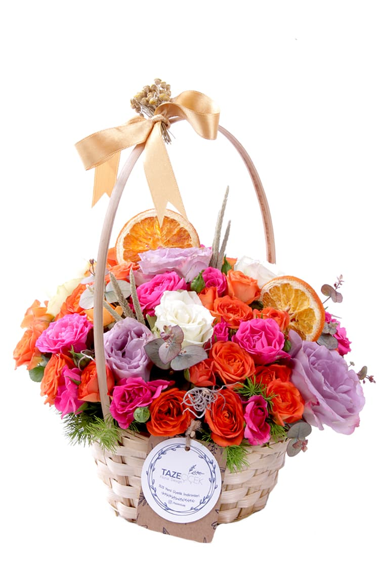 Best Roses Basket